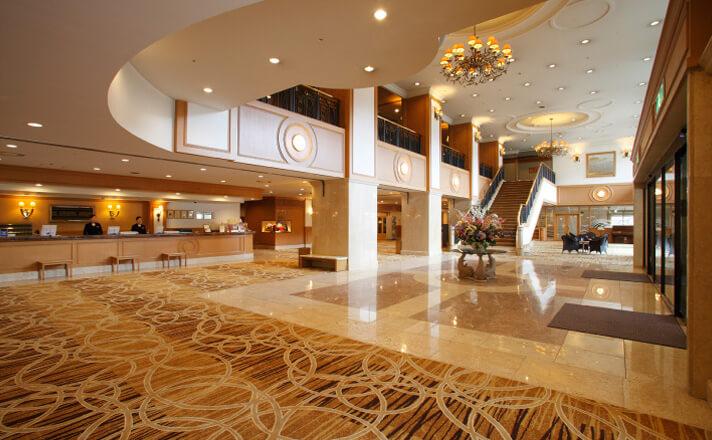 ホテルに到着