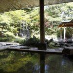 登別グランドホテル 庭園露天風呂
